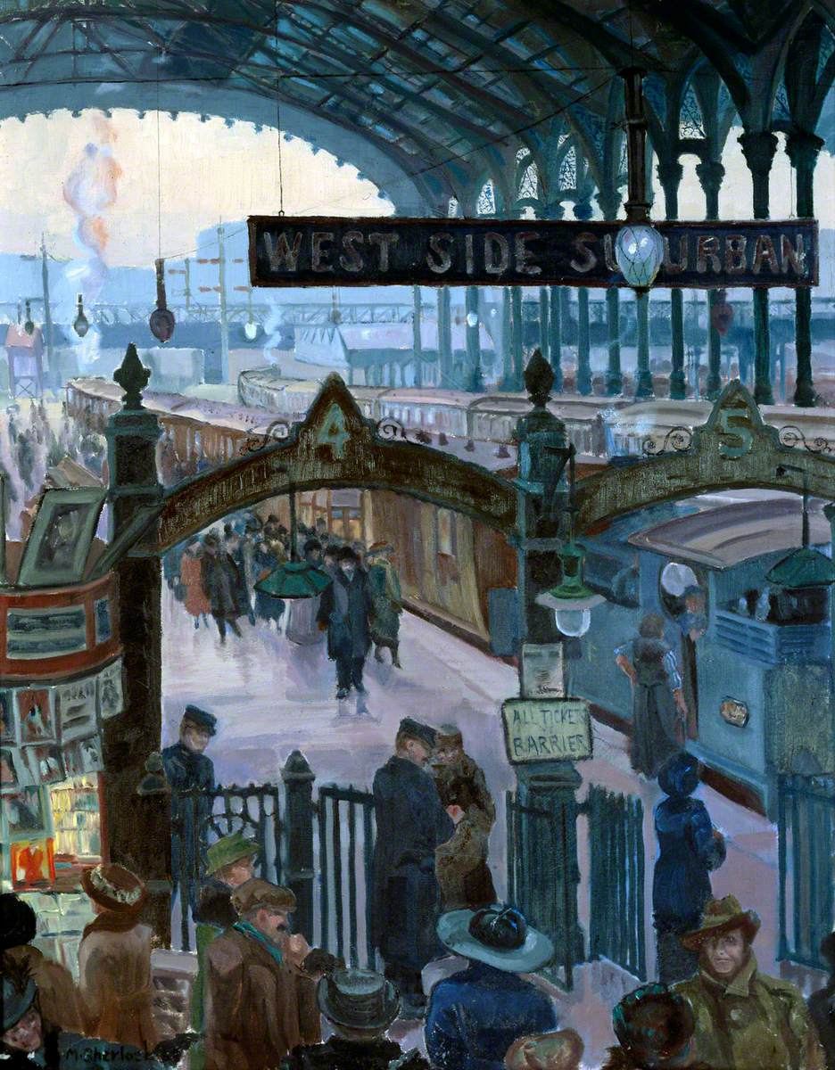Liverpool Street Station in the Twenties