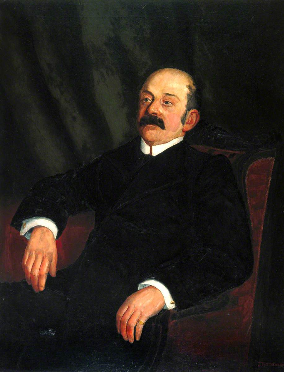 Samuel Holliday, Station Master, Newcastle-upon-Tyne