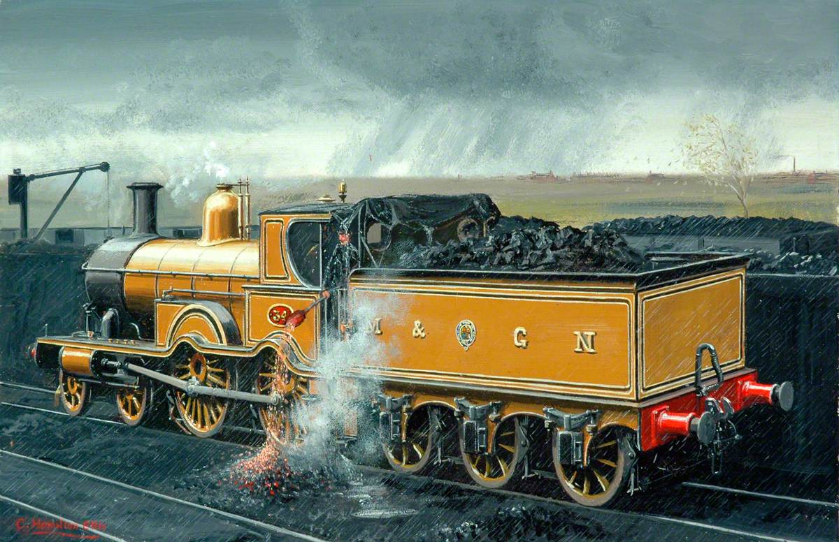 Midland and Great Northern Joint Railway 4–4–0 Locomotive No. 34