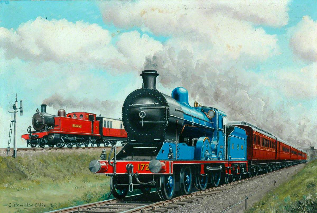 Great Northern Railway (Ireland) 4–4–0 Locomotive No. 172