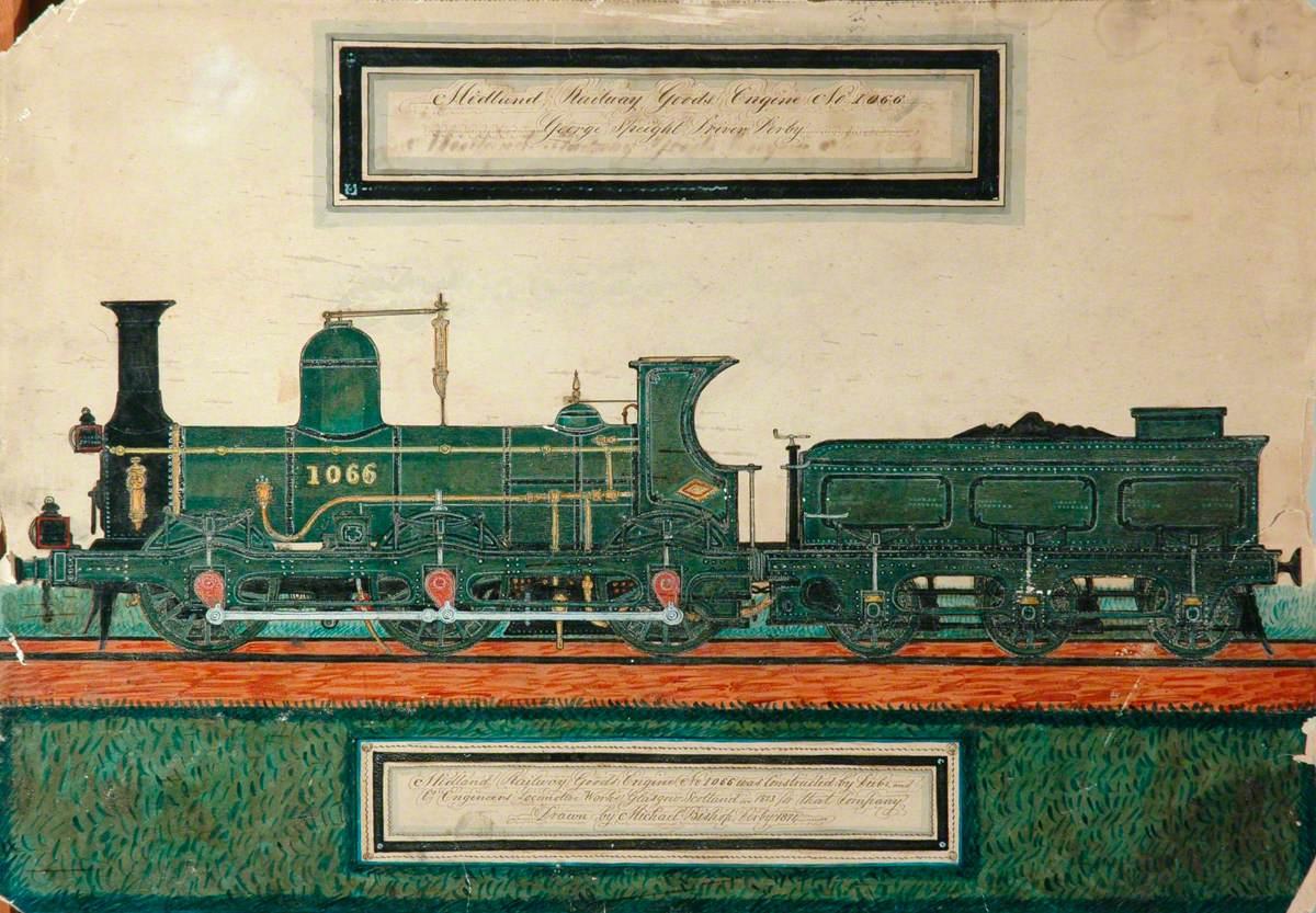 Midland Railway 4–4–0 Goods Engine No. 1066