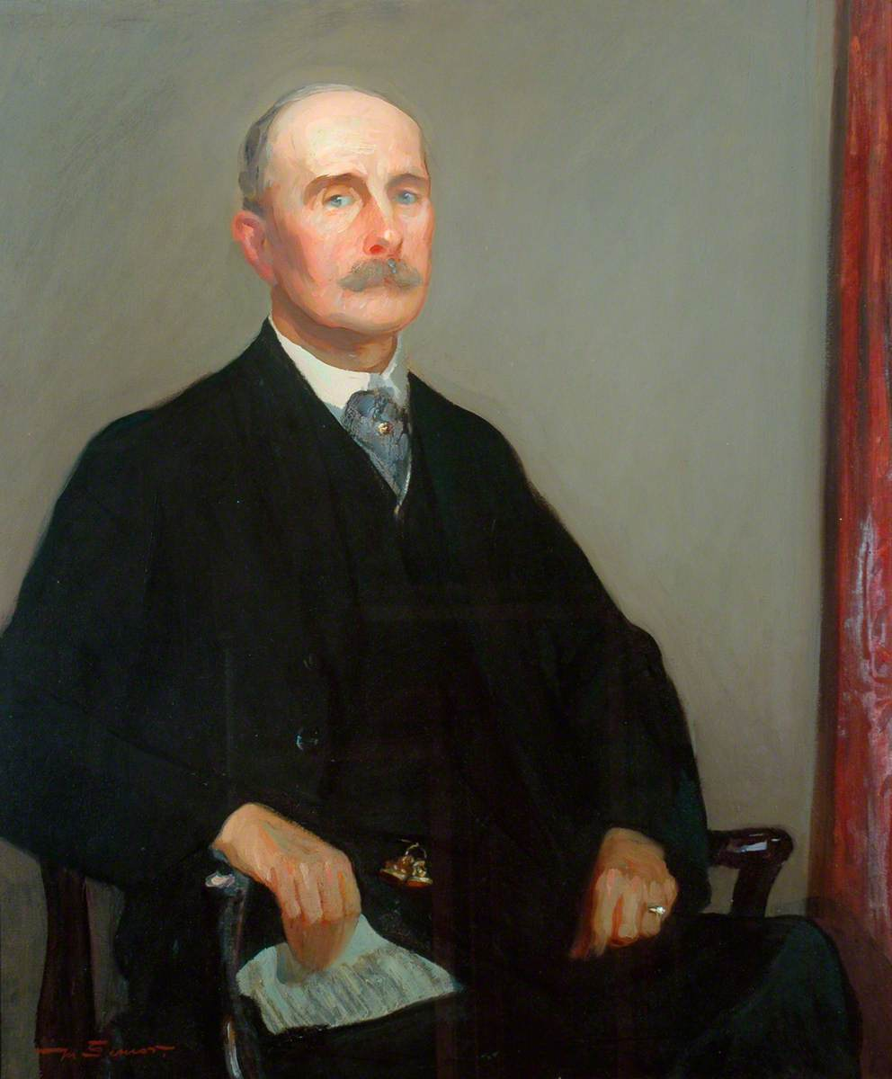 T. H. Woodwark Esq., JP, Chairman of the Whitby Urban District Council