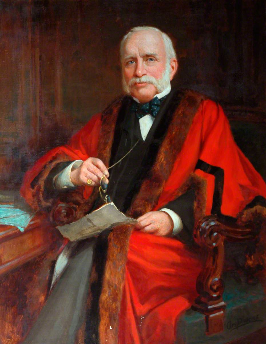 William Charles Land, JP, Mayor (1878–1879)