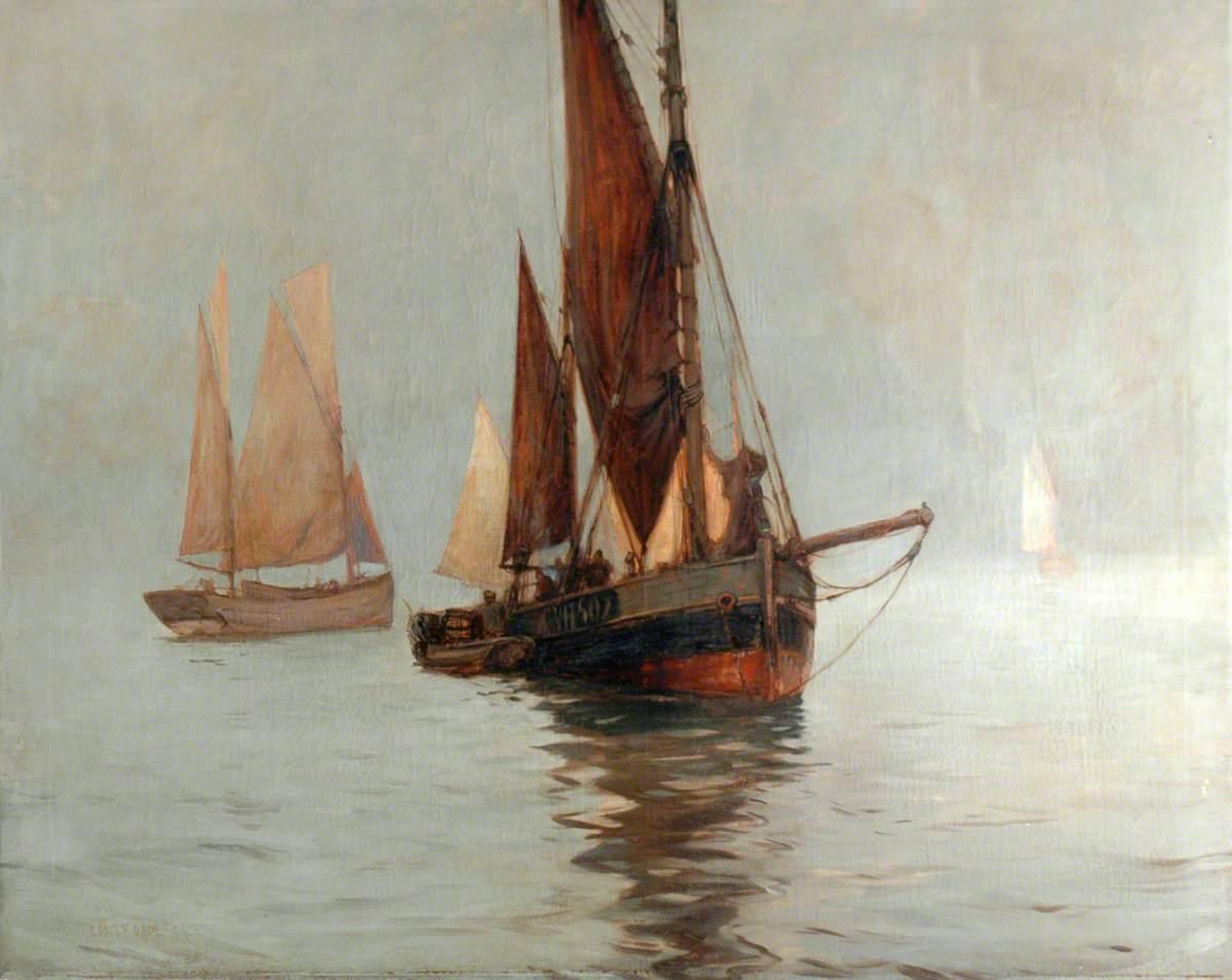 Ferrying Herrings, Scarborough Bay