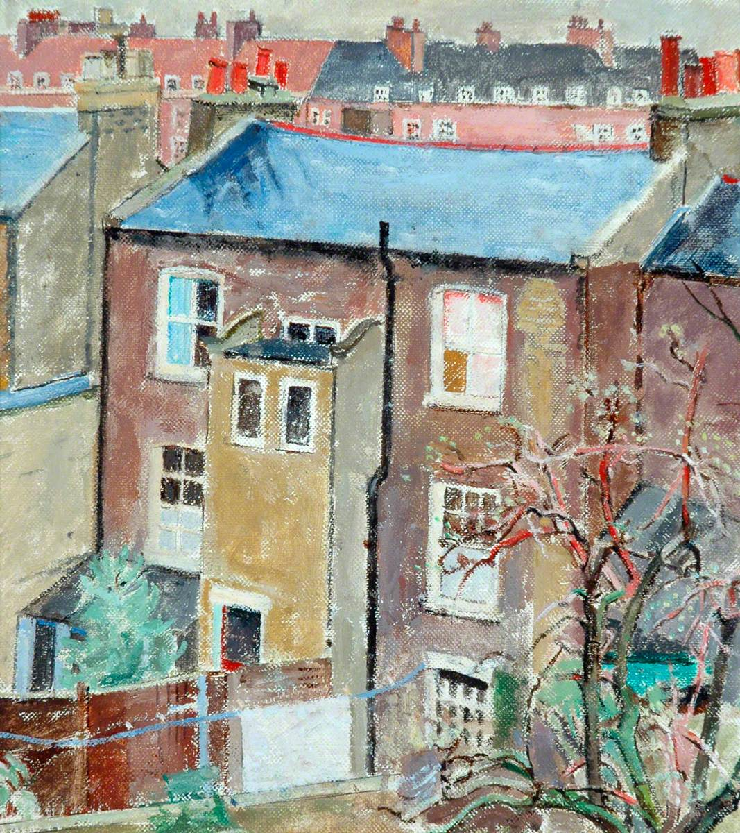 Stockwell, View from the Artist's Bedroom