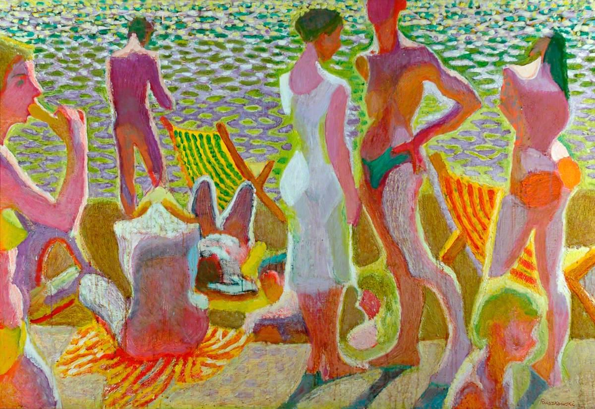 Bathers in Sunlight