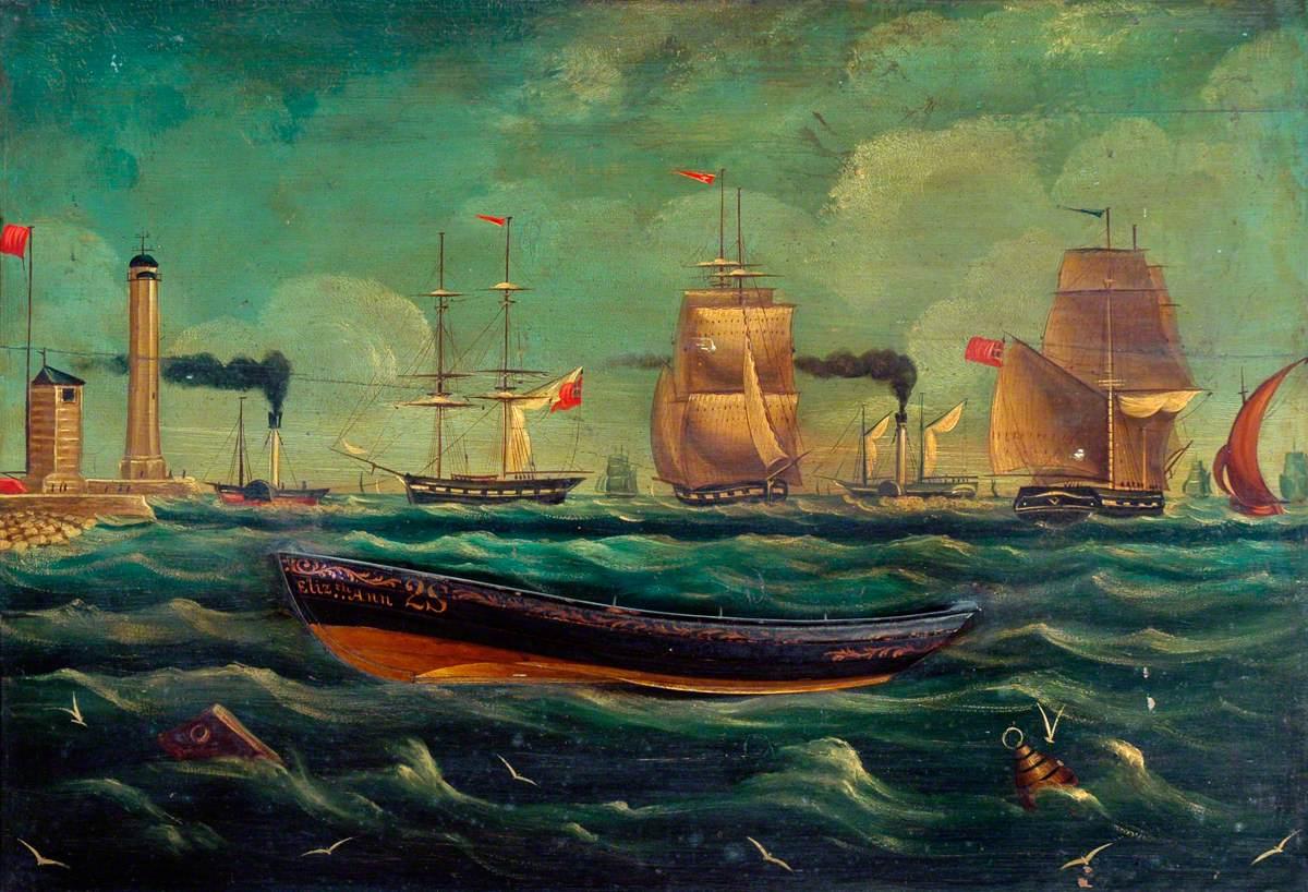 Ship Portrait: 'Elizabeth Anne'