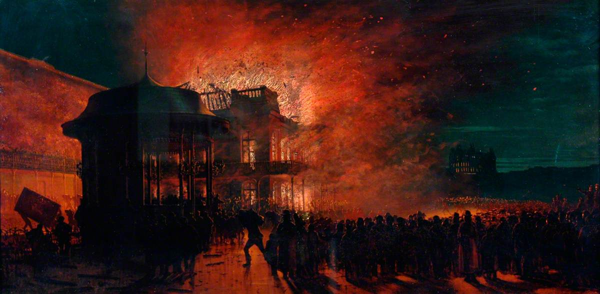 The Spa Fire