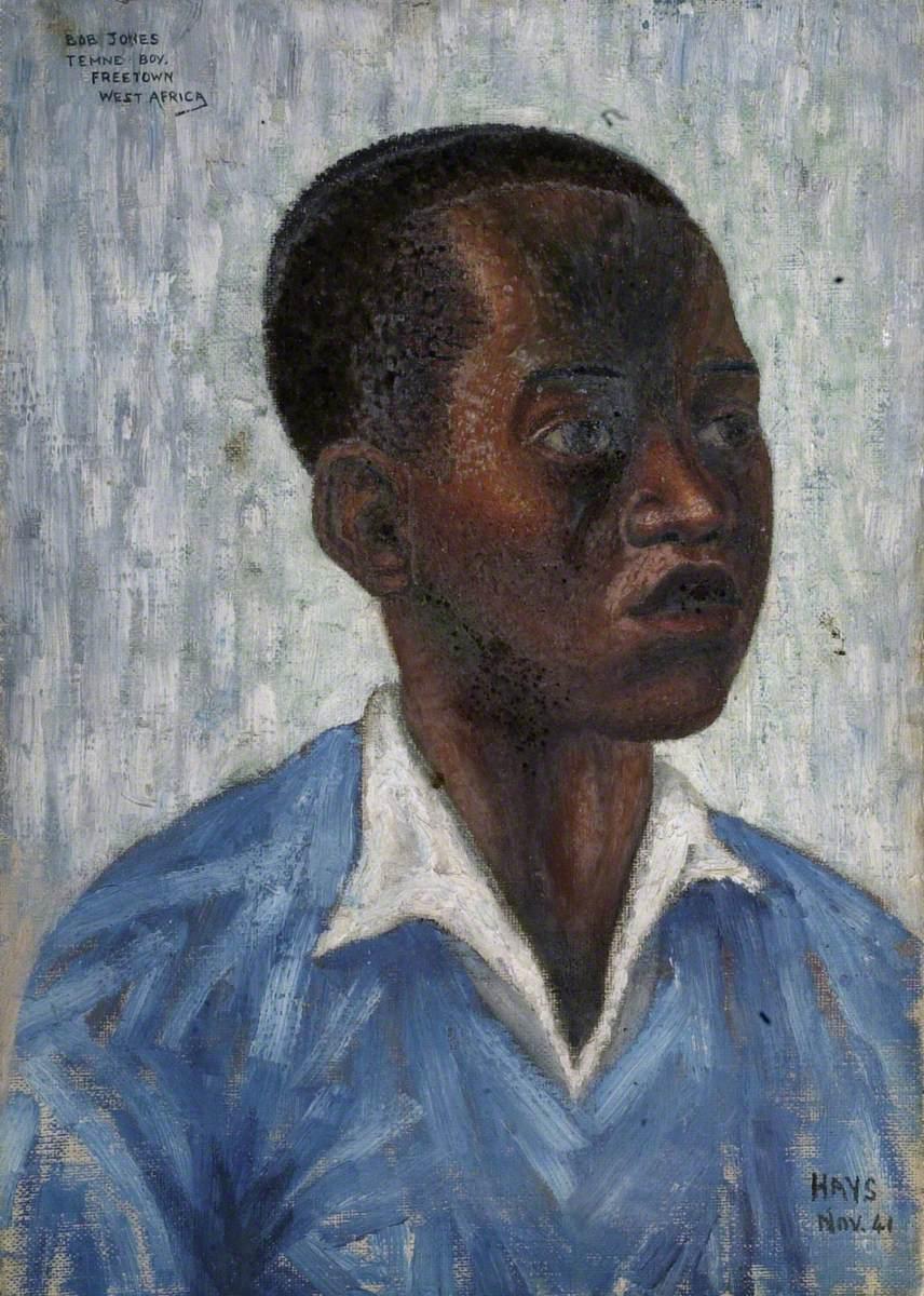 Bob Jones, Temne Boy, Freetown, West Africa