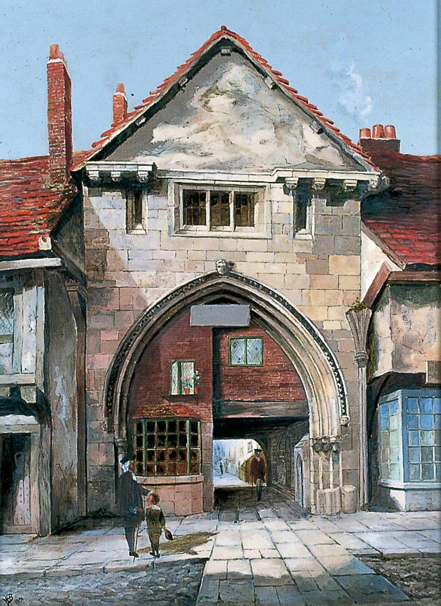 The Gatehouse at Holy Trinity Priory, York