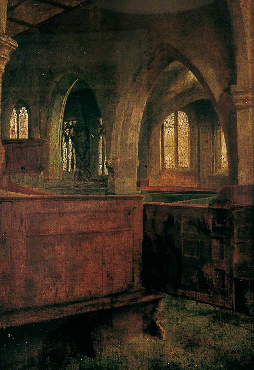 Interior, Holy Trinity, Goodramgate, York