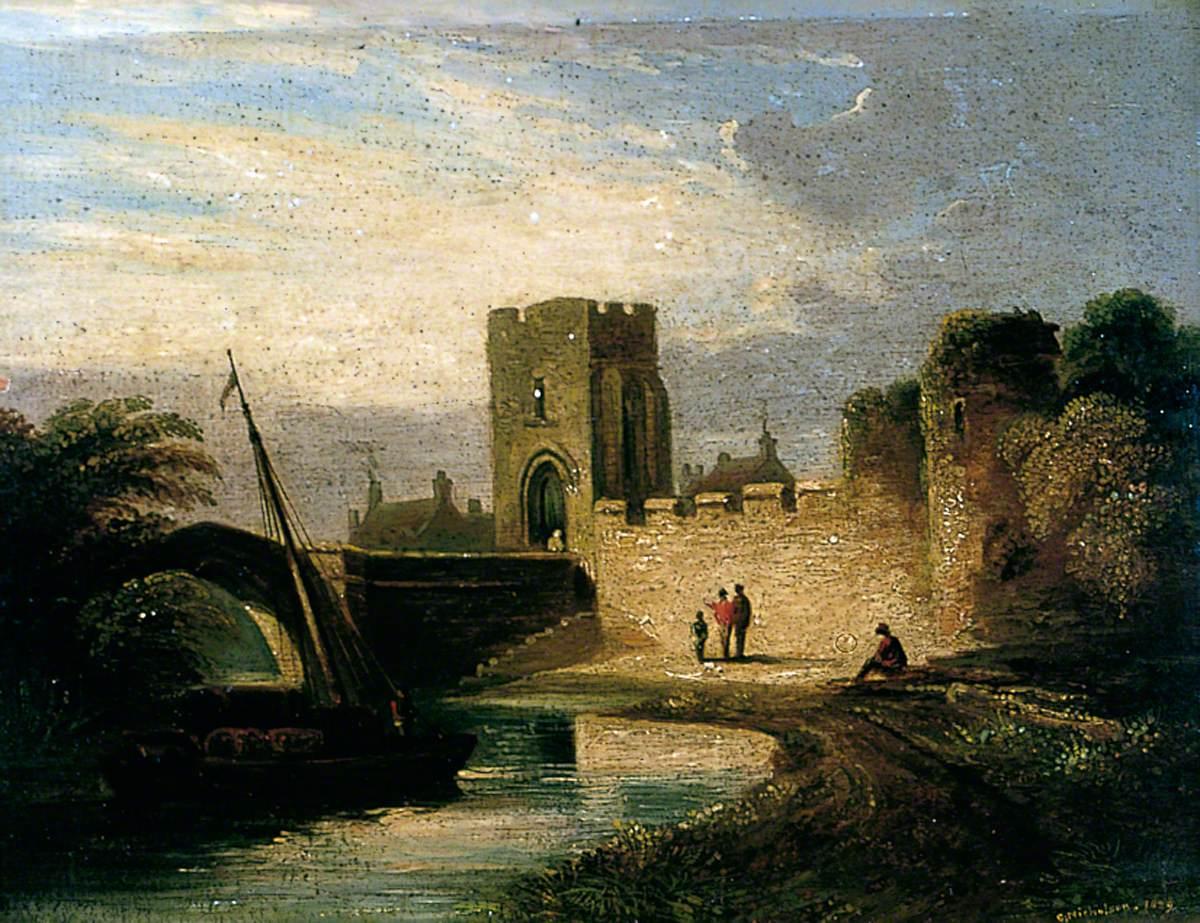 Layerthorpe Bridge and Postern, York