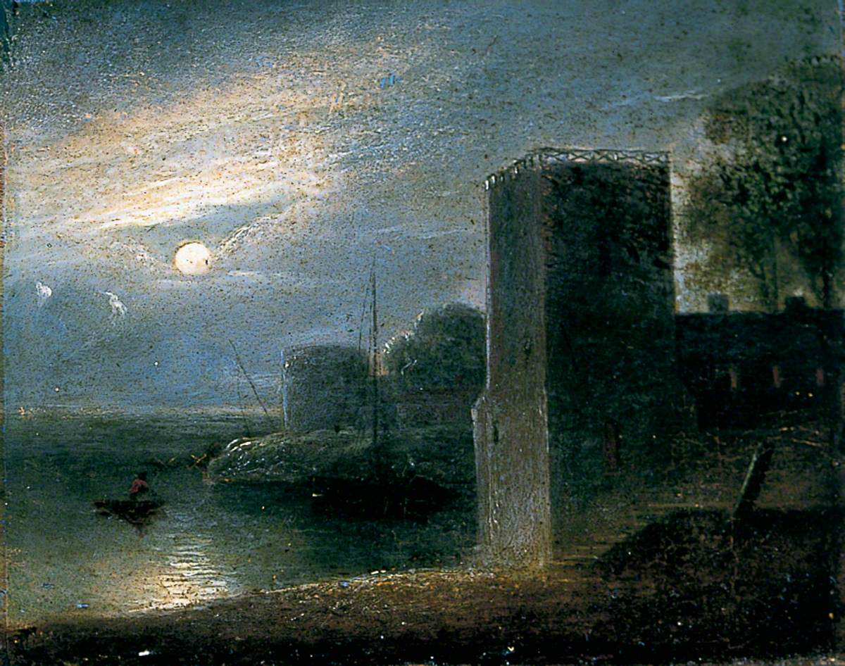 Lendal Water Tower, York, by Night