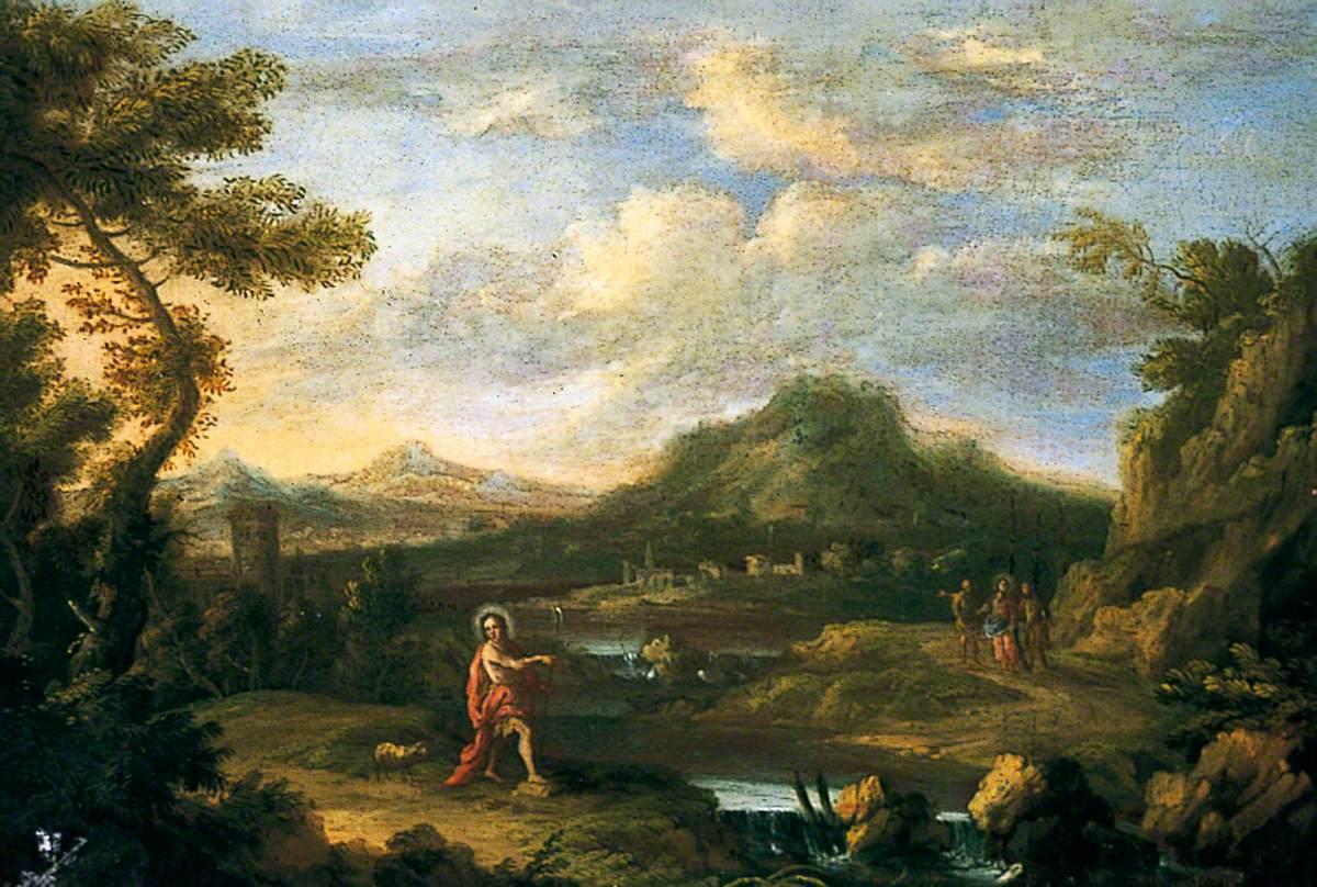 Landscape with St John the Baptist