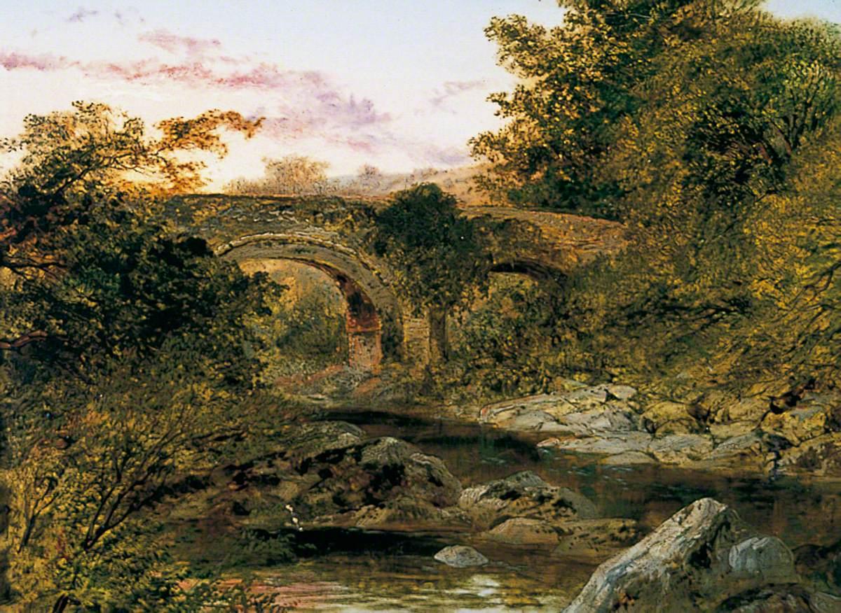 Holne Bridge on the Dart, Devon