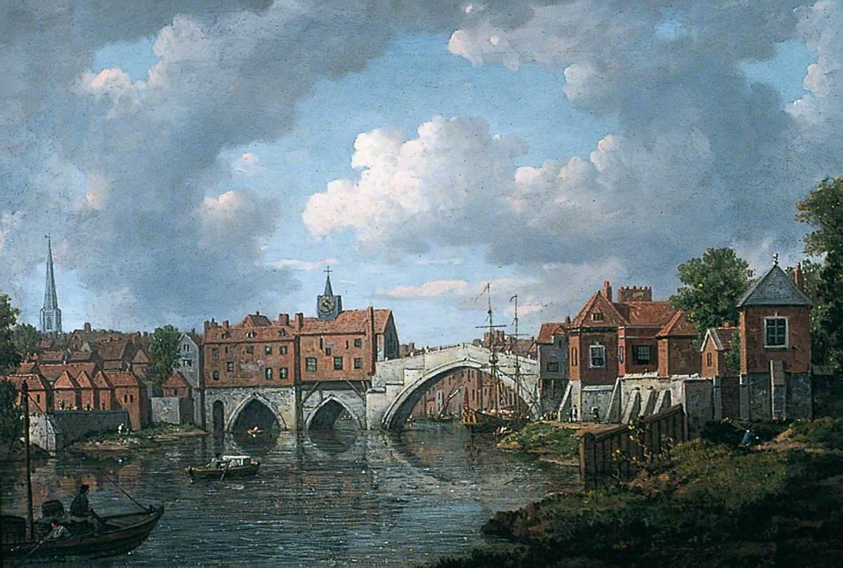 The Old Ouse Bridge, York
