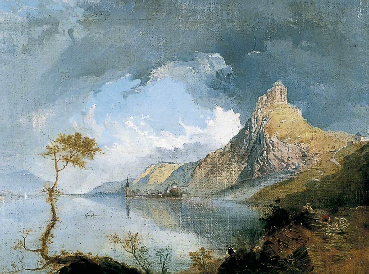 Scene on the Rhine