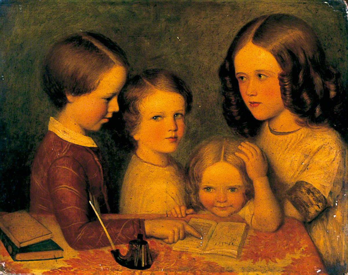 Four Children of the Patterson Family