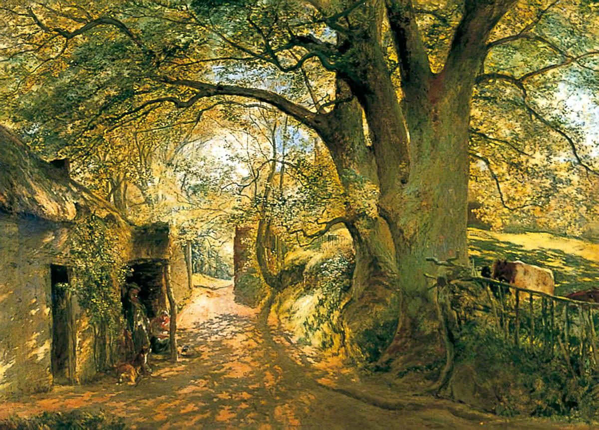 Entrance to Cadzow Forest, near Glasgow