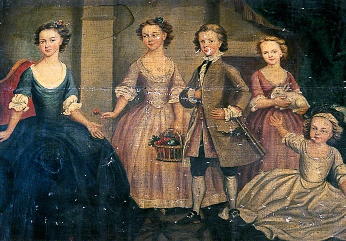 Five Children of the Pigott Family