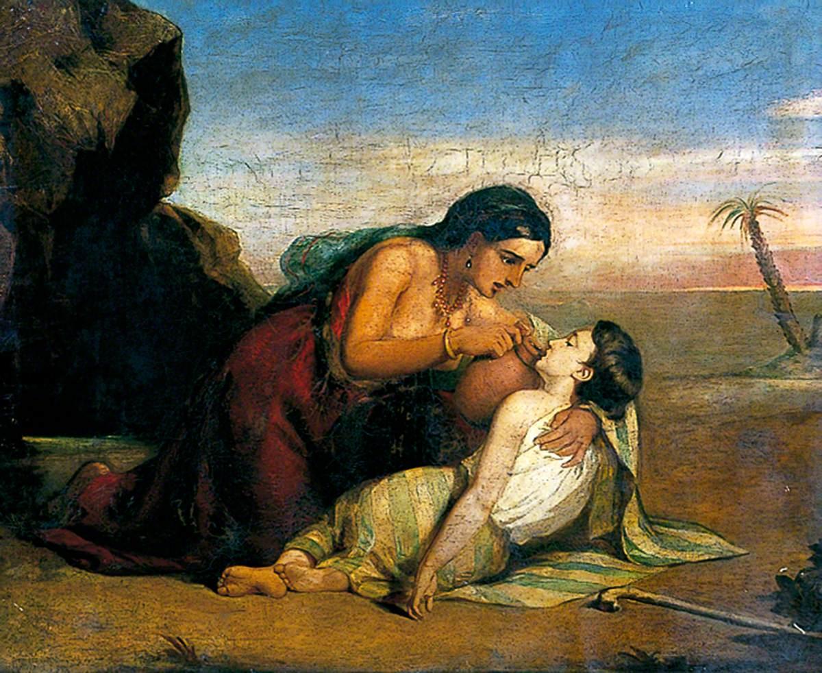 Hagar and Ishmael at the Well