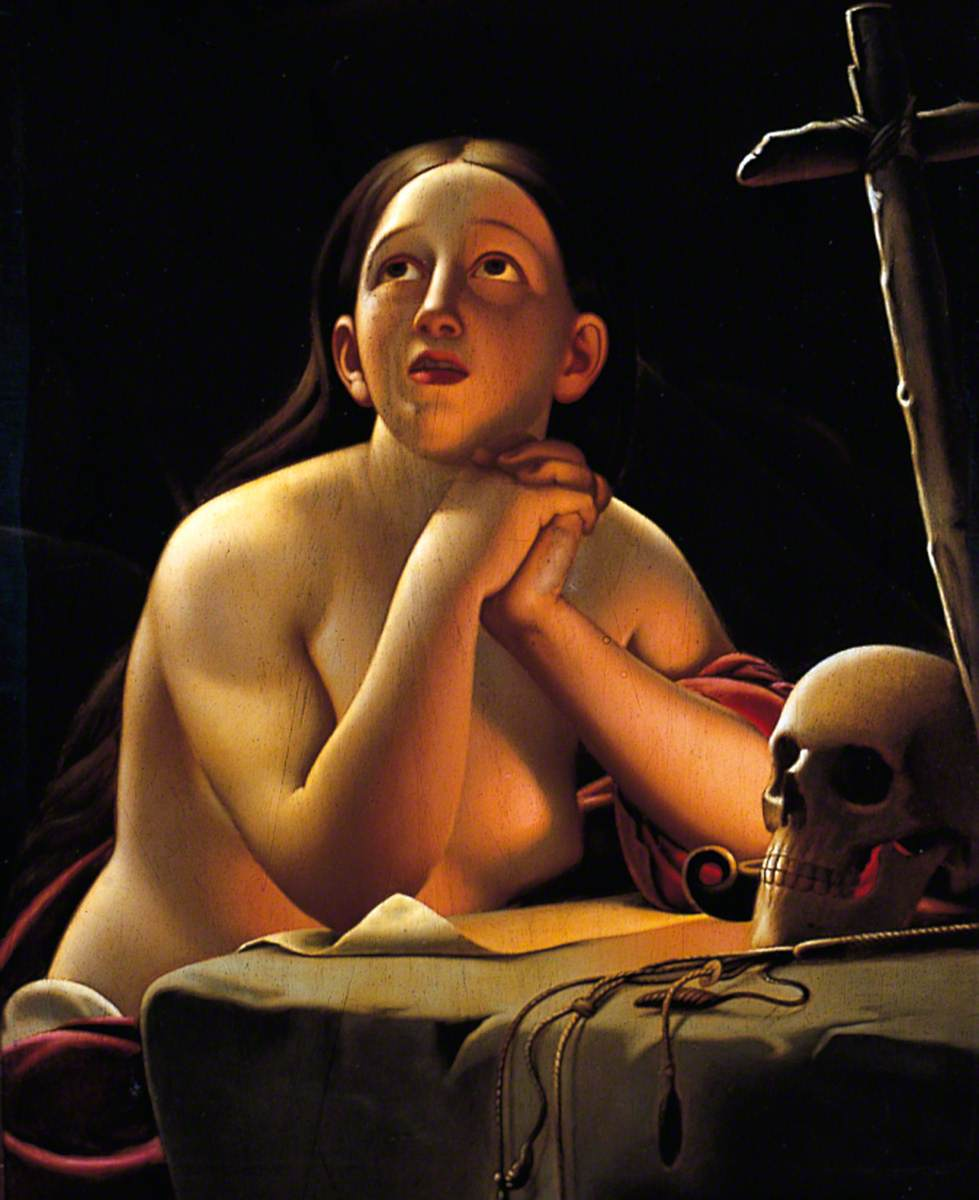 The Magdalen by Lamplight