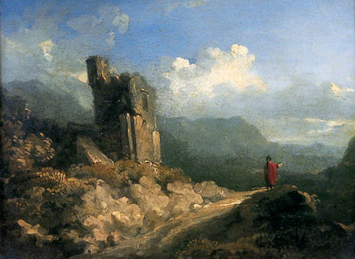 Landscape with Ruined Tower