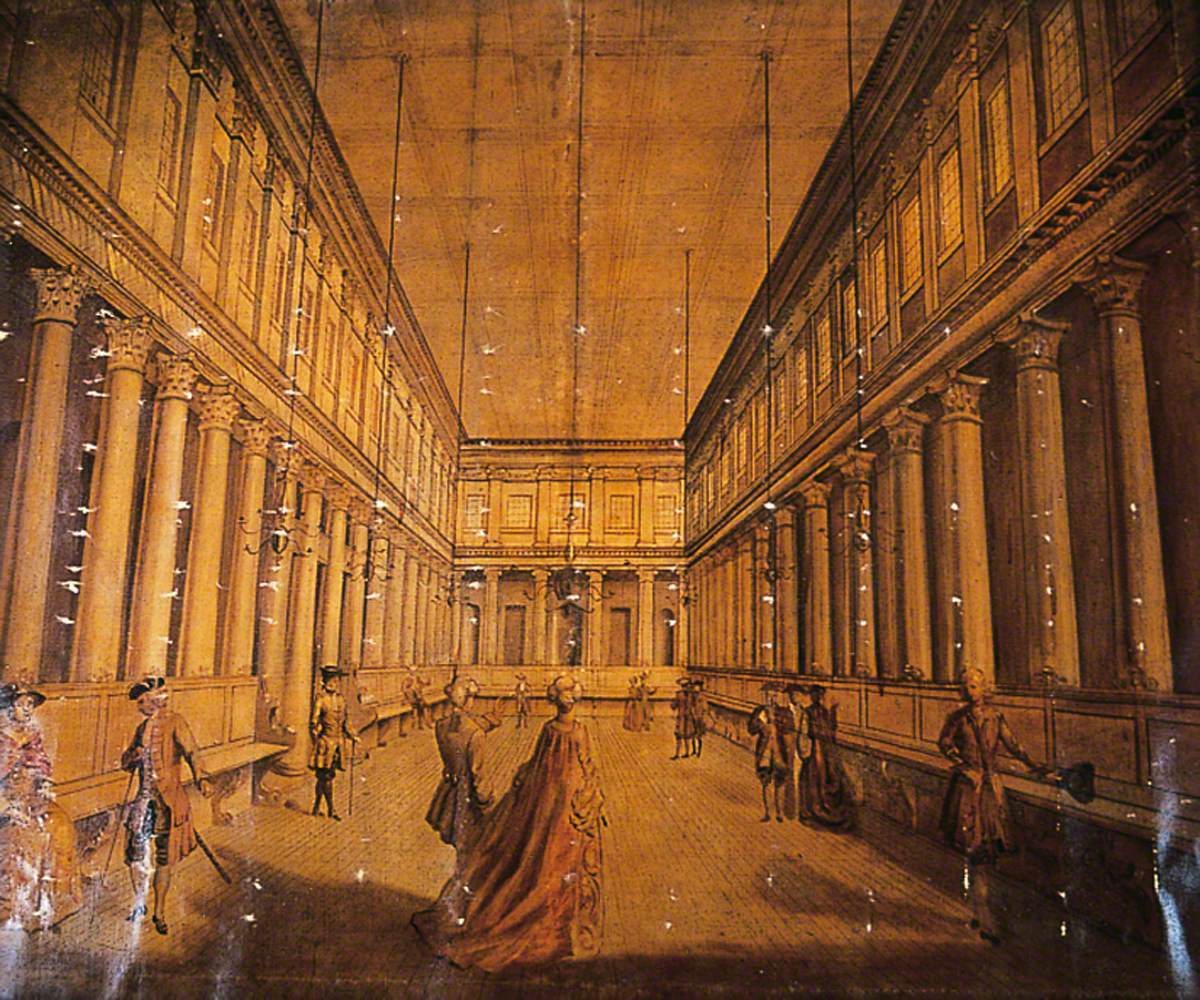 Interior of the Assembly Rooms, York