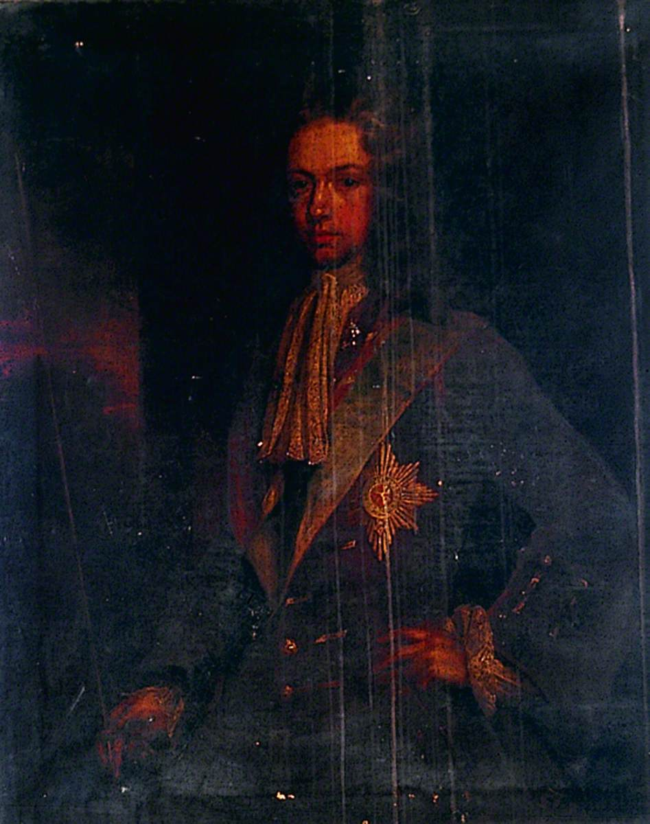 Portrait of an Unknown Man with the Order of the Garter