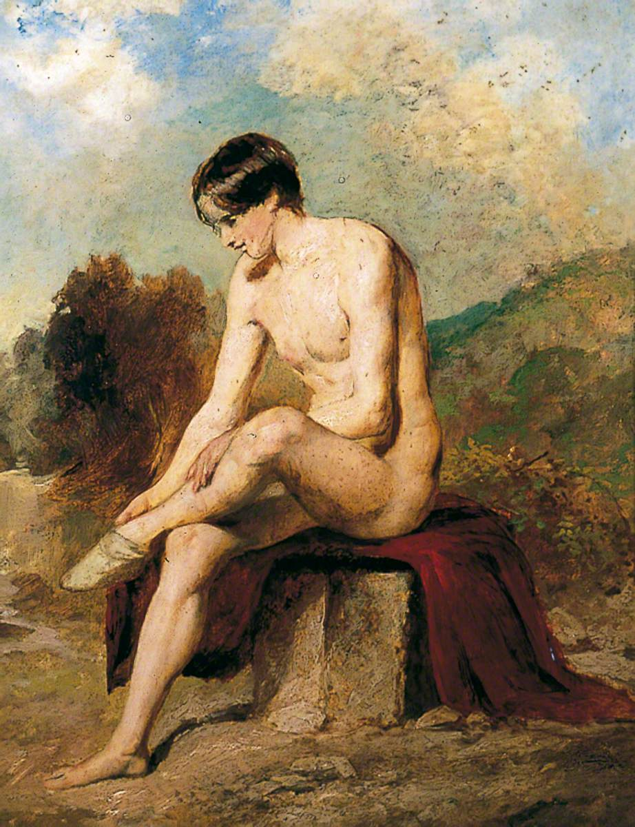 A Bather