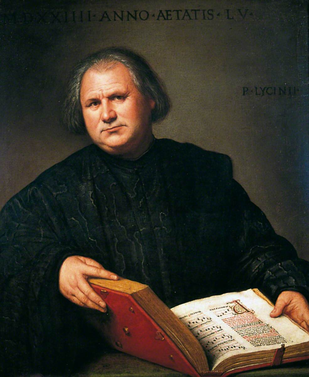 Portrait of a Man with a Missal
