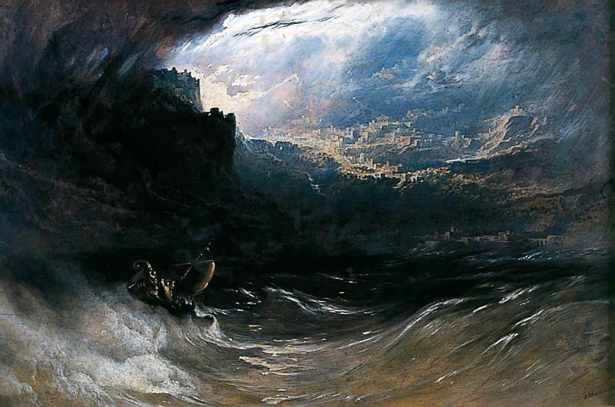 Christ Stilleth the Tempest