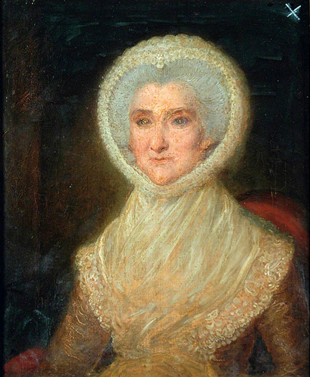 Mrs Pearson in Old Age