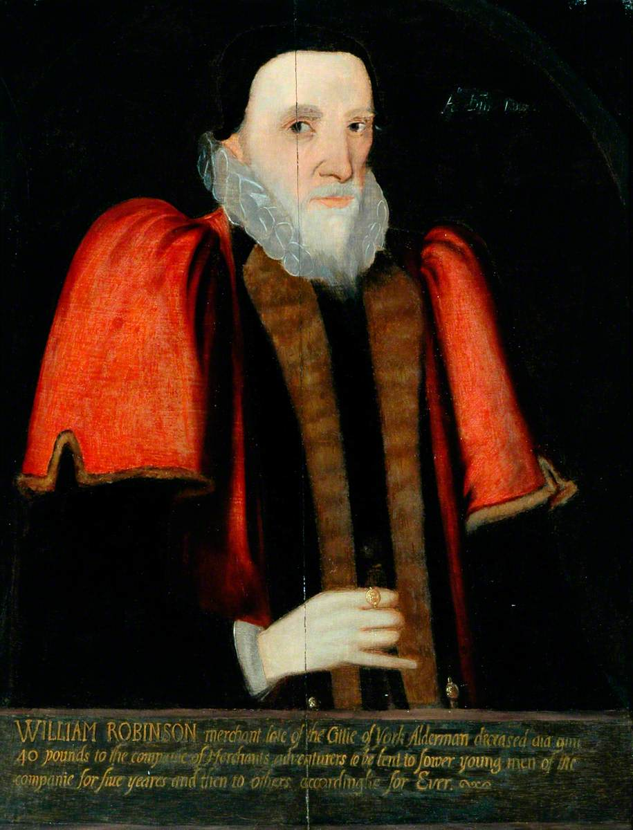 William Robinson (d.1614), Governor (1590–1591)