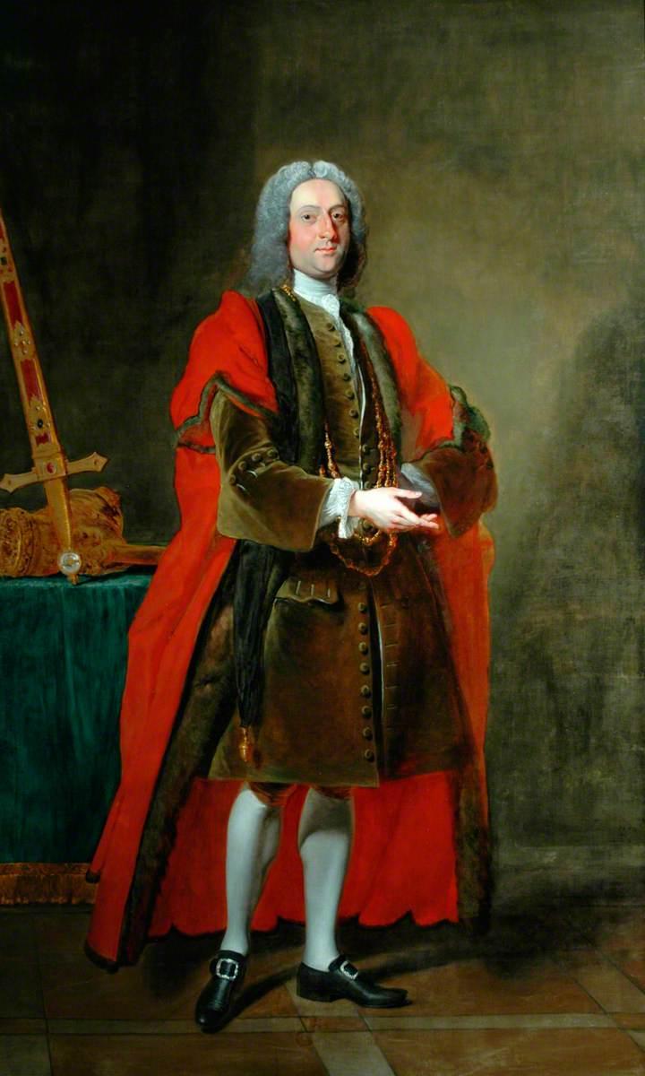 Sir John Lister Kaye, 4th Bt, When Lord Mayor of York