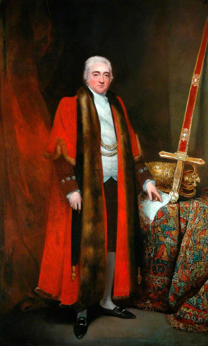 Sir William Mordaunt Milner, 3rd Bt, When Lord Mayor of York in 1798