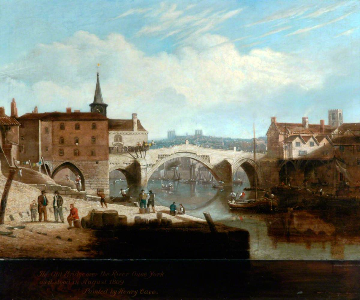 The Old Bridge over the River Ouse, York