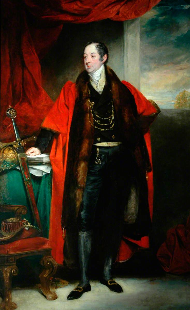 The Right Honourable Lawrence, Lord Dundas, as Lord Mayor of York