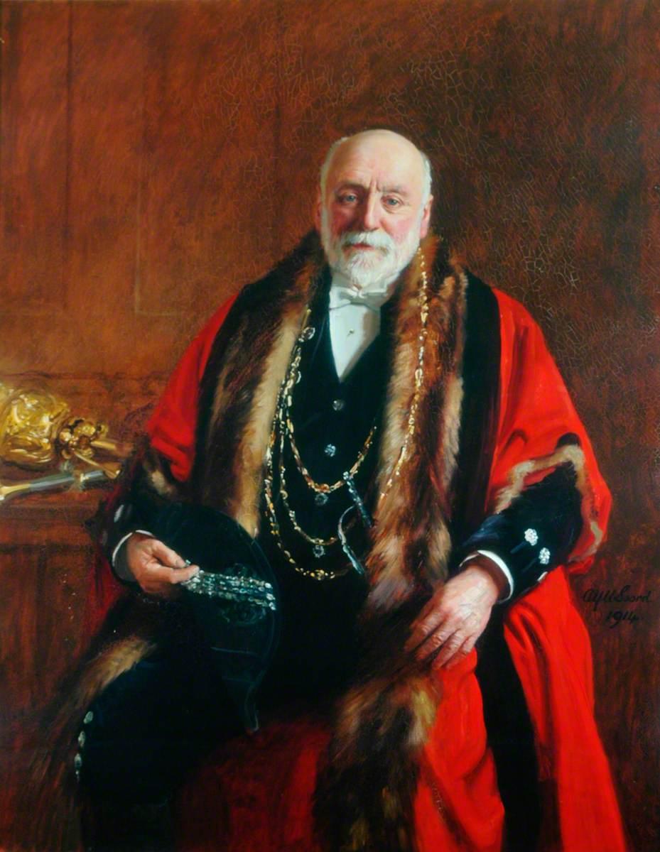 Alderman Sir Joseph Sykes Rymer, Lord Mayor