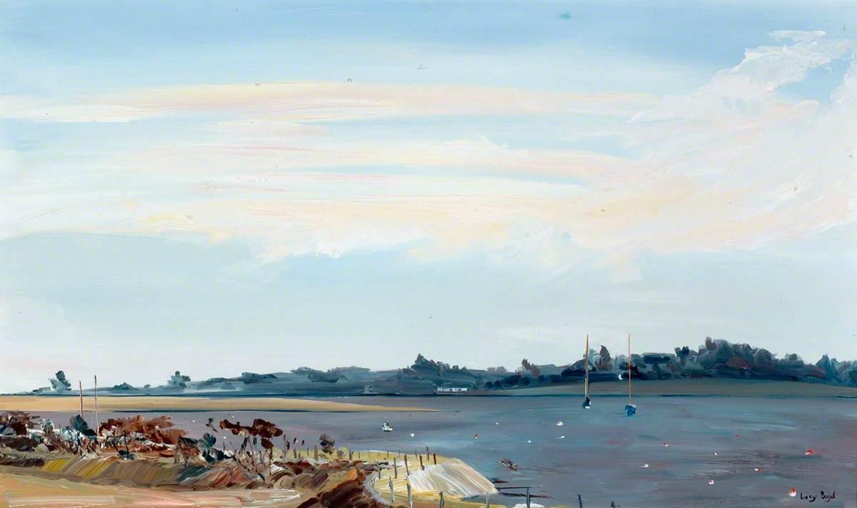 Yachts on Estuary