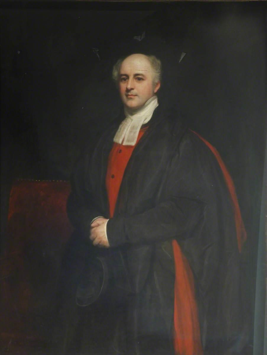 Ashurst Turner Gilbert (1786–1870), DD, Principal (1822), Bishop of Chichester (1842)