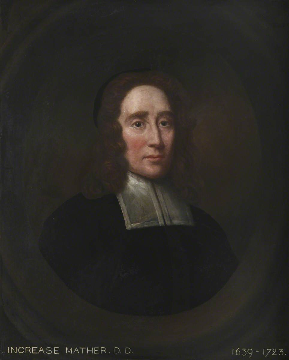 Increase Mather (1639–1723), MA, DD