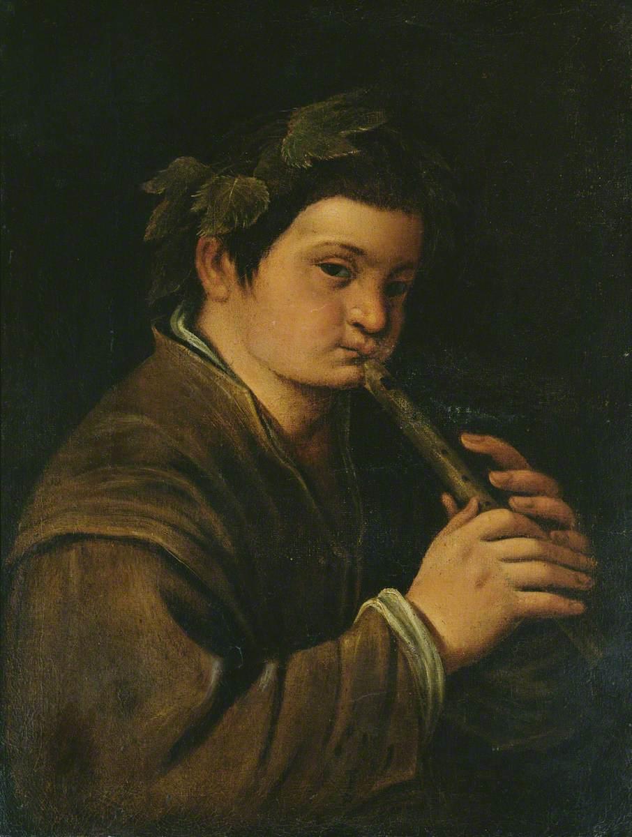 A Boy as Bacchus