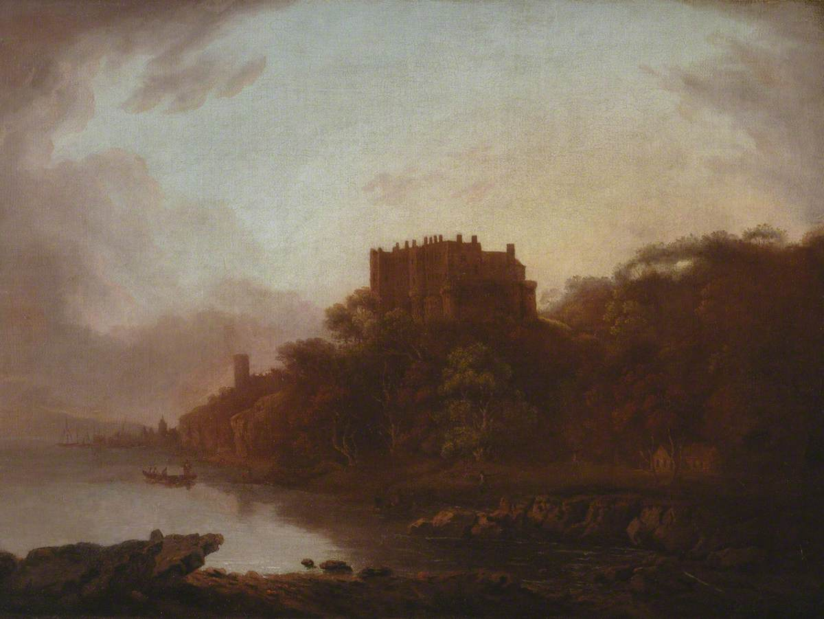 Castle by a Lake