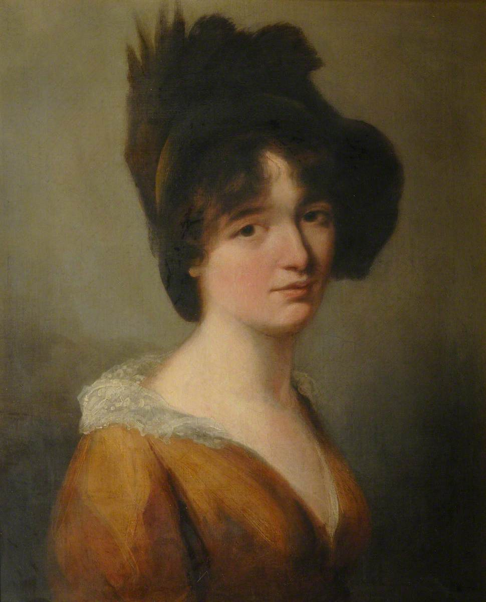 Mary Somerville (1780–1872), as a Young Woman