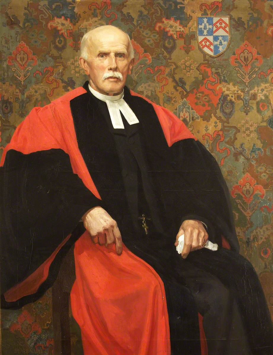 Mark James Barrington-Ward (1844–1924), Inspector of Schools, Rector of Duloe and Canon of Truro Cathedral