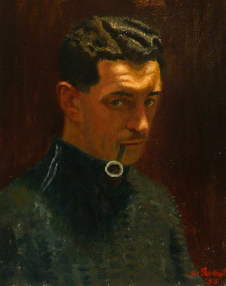 Self Portrait, oil on canvas (1935)