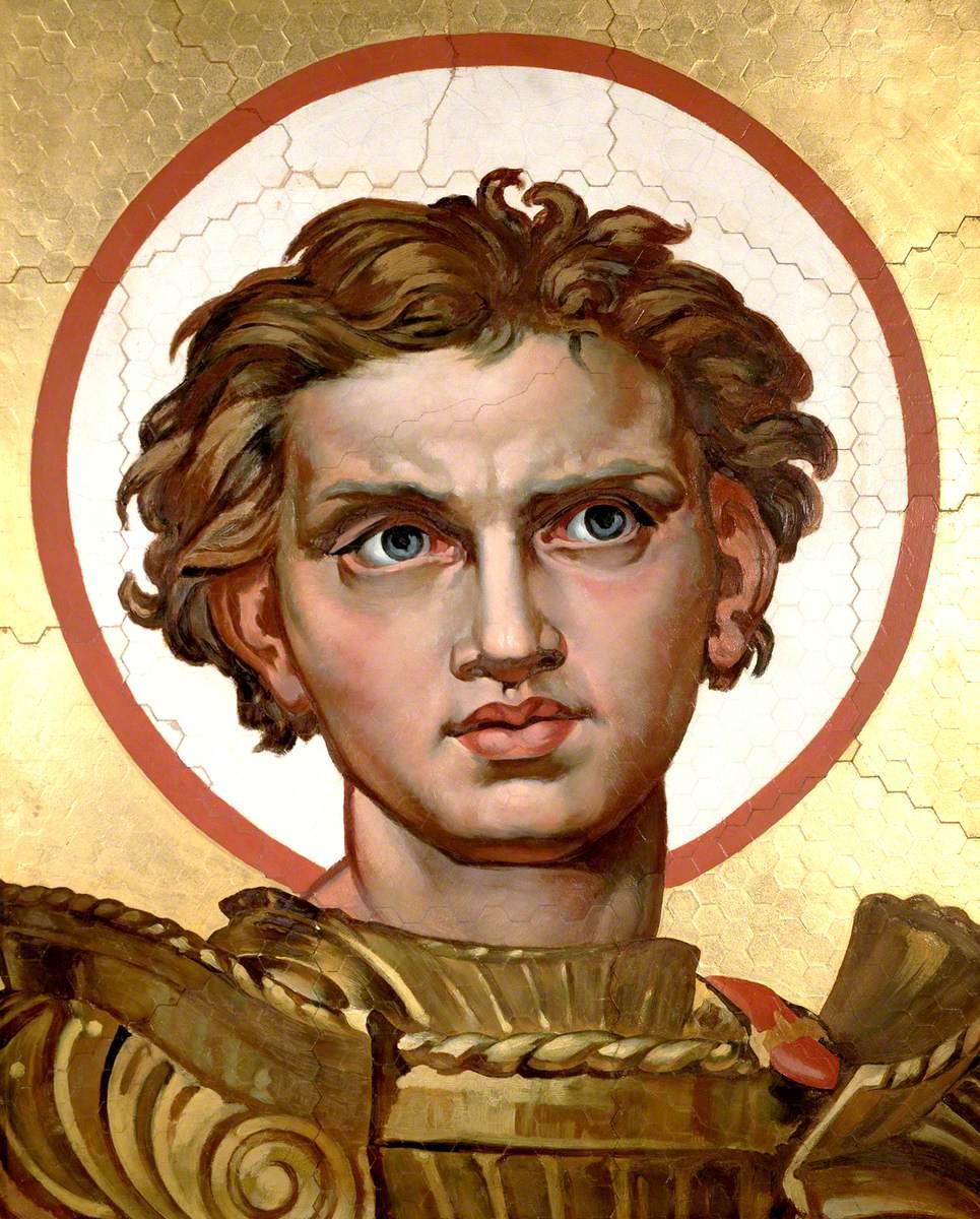 Head of Saint George