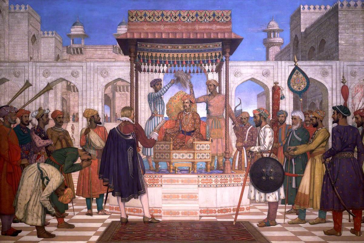 Sir Thomas Roe at the Court of Ajmir, 1614