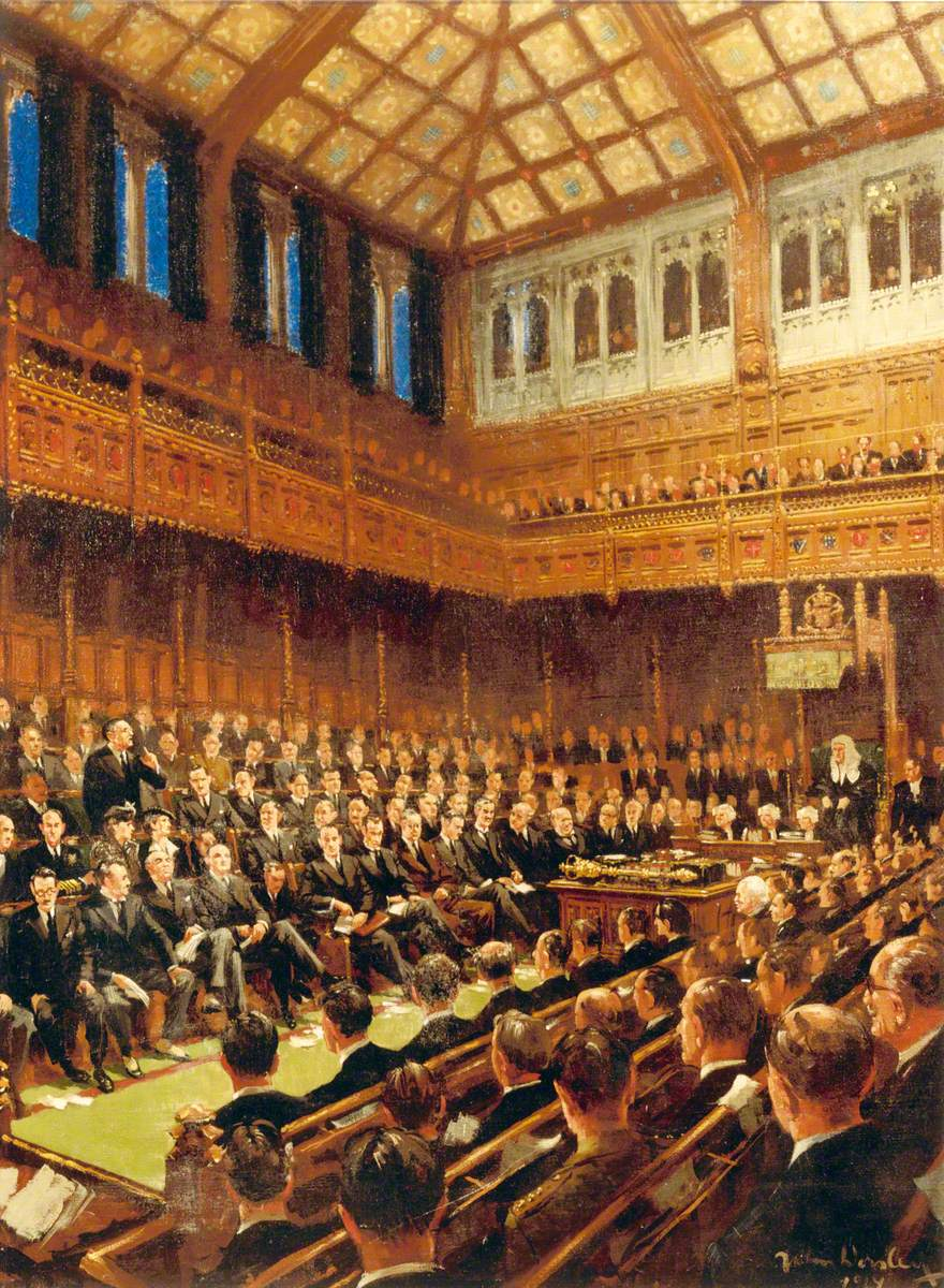 House of Commons, 1940